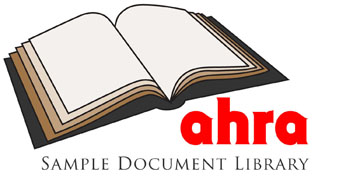 New Sample Library Coming Soon >> What S New At Ahra S Sample Document Library Link