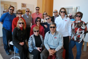 "The AHRA Board of Directors ""goes Hollywood,"" modeling some AHRA sunglasses in honor of the upcoming Spring Conference."