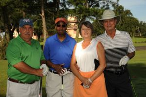 Mike Albertina, FAHRA (1st on the left) with his team at the 2013 tournament