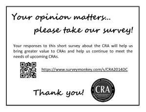 Your opinion matters AM card
