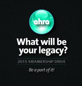 AHRA Legacy Button