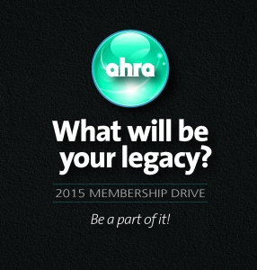 AHRA Legacy Button
