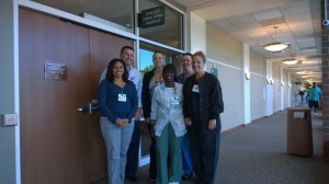 The team at Akron General who helped to facilitate my visit.